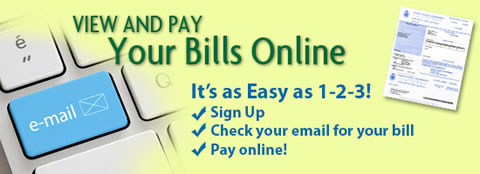 View and Pay Your Bills Online